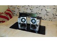 Stereo Amplifier+Woofers speakers