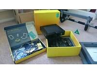 EE wireless router and TV box