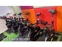 FREE DELIVERY - 18kg flywheel Spin bike exercise bike tags: dumbb/barbells treadmill home workout