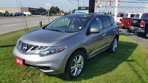 2012 Nissan Murano SL | LEATHER | MOONROOF | AWD | JUST TRADED | Cambridge Kitchener Area image 1