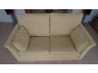 Wesley Barrell 2 1/2 seater sofa - free to collect