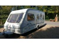 Swift challenger 490 lse 5 berth mint condition fall awning