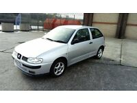 SEAT IBIZA CHILL 1.4 CHEAP (51REG) 12MONTH MOT 73322MLS (SAME AS POLO) REDUCED TO £600