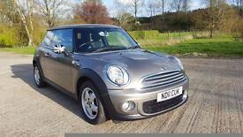 2011 MINI Hatch Facelift 1.6 One D Start/Stop 1 Owner Full Service History HPI Clear