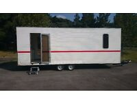 Exhibition Trailer - Very Good Condition, Lots Of Utilities