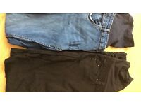 Ladies Maternity Jeans Bundle Size 12