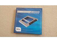 Crucial M500 SSD 960Gb