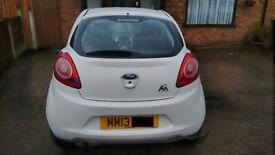 2013 Ford KA Edge - Low mileage, fully serviced, recent MOT Pass & road Tax