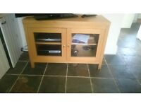 Oak TV Cabinet - Good Condition