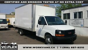 2014 Chevrolet Express 3500 16Ft V8 Gas + Ramp