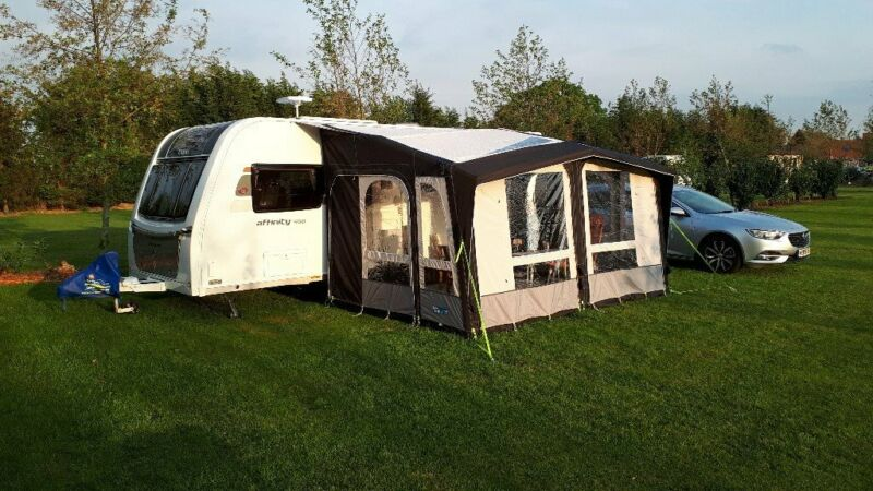 Kampa Club Air Pro 390 Caravan Awning. Bought April 2019. Used Only 3 Times., used for sale  Weston-super-Mare, Somerset