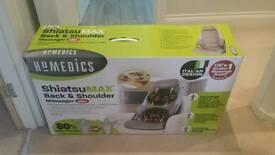 Homedics shiatsu max back and shoulder massager CBS-100-GB