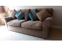 Bed settee , 3 seater converts into double bed