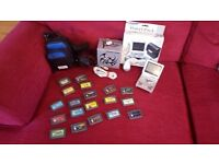 Gameboy Advanced SP Tribal + 19 Games