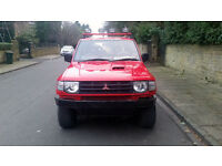 1998 (R reg) Mitsubishi Shogun 2.8 TD GLS Flared Arch SWB Red manual