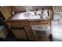Eldis caravan for sale 3/4 berth