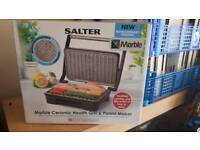 Salyer marble grill/panini press brand new