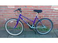 Ladies Raleigh classic bike 18 inch frame good working condition and ready to ride,