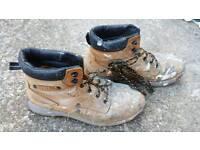 DeWalt Steel Toe Work Boots - Size 9