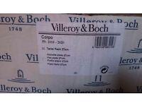 Villeroy and bosch white dinner plates 27cm