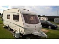 ABBEY VOGUE GTS 416 - 2004 4/5 berth caravan