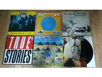 """6 x vinyl LP's / 12"""" talking heads - little creatures stop making sense /true stories /tongues"""
