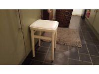 Vintage Retro Style Stool Bedside Table Side Table Bathroom Stool