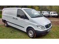 Mercedes-Benz Vito 2.1 109CDI Dualiner Long Panel Van 5dr Very Clean , Roof Rack, No Vat