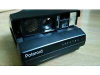 Polaroid Spectra SE + Impossible Frog Tongue - Very Good Condition - Tested and working