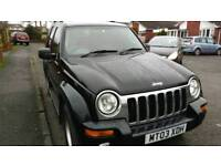 2003 jeep cherokee 2.5 crd limited edition in black