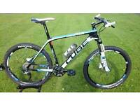 SHOWROOM CONDITION FULL CARBON CUBE REACTION GTC TEAM HARDTAIL MOUNTAIN BIKE * FULLY SERVICED *
