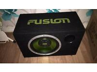 Fusion subwoofer very good condition