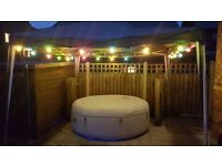 Lay Z Spa Paris Hot Tub With LED Lightning