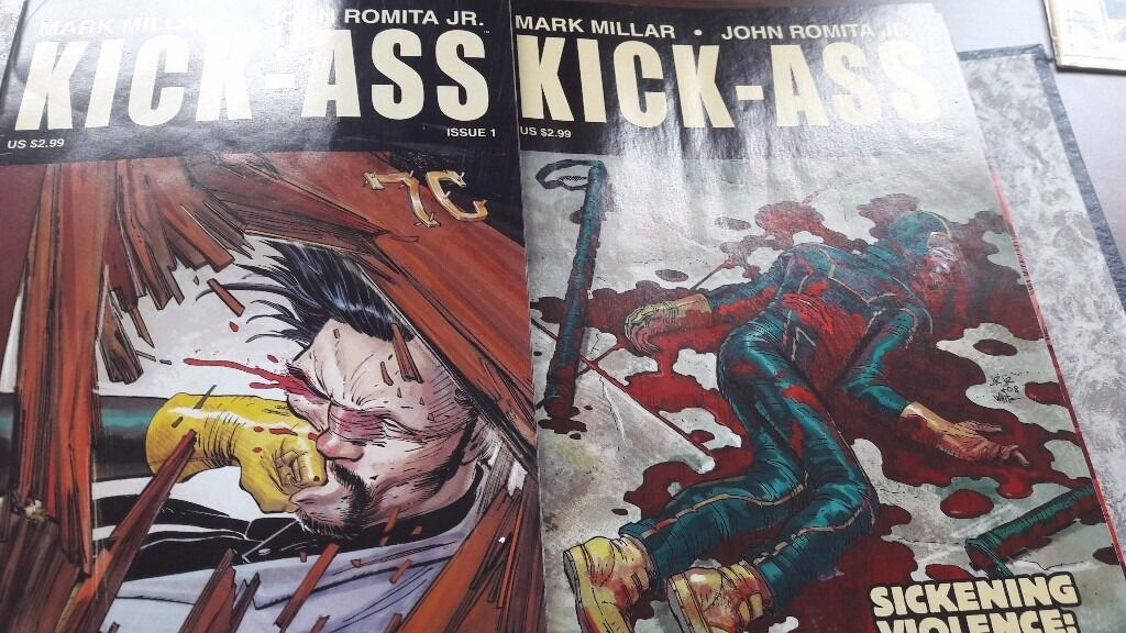 Kick Ass by MillarRomita Jnr. Vol2 issues 1 8in Stoke on Trent, StaffordshireGumtree - All 8 issues of Millar & Romitas Kick ass volume 2. All issues are in very good condition, near mint. They have not been graded