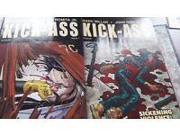 Kick-Ass by Millar & Romita Jnr. Vol2 issues 1-8
