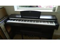 Yamaha Arius YDP-141 digital piano. Weighted keys, 3 pedals and stool