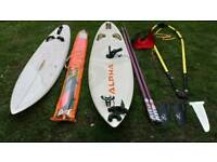 Complete Windsurf kit & Fanatic sail