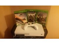 Xbox one s 1T with 3 games swap only for push bike