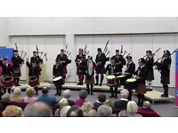LOOKING FOR BAG PIPERS & DRUMMERS