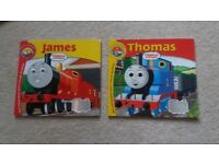1 x Thomas the Tank with CD and 1 James book + CD