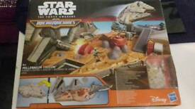 Starwars miromachines million falcon boxed