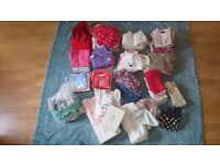Huge Baby girl clothes and shoes bundle 6-24 months