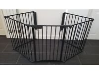 Babydan Fire Guard / Hearth Gate - Black - with Instructions