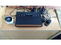 Atari 2600 (woody) boxed with 22 games