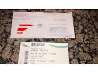 X2 Jason Derulo Tickets Birmingham Arena 26th September