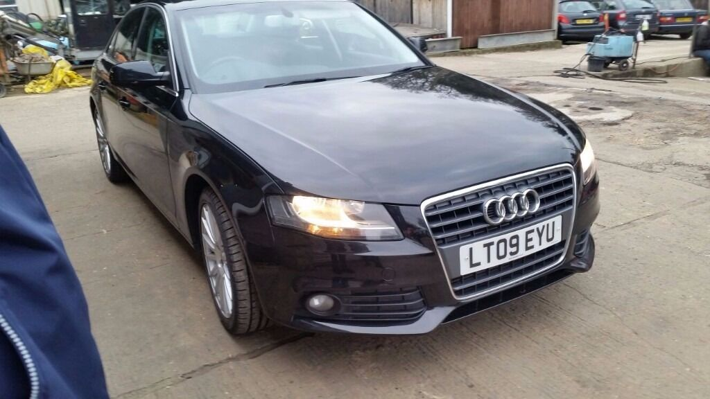 Audi A4 2.0 TDI 6 speed, manual. long MOT