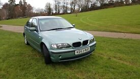 BMW 3 SERIES 1.8 AUTOMATIC, LONG MOT, VERY GOOD DRIVE, VERY LOW MILEAGE, FULL MOT HISTORY, 4 GOOD TR