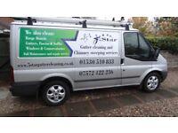 5 Star Chimney Sweeping Services based in Coalville. HETAS Registered Installer