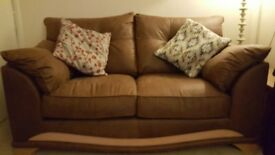 2 x 2 seater settees brand new condition