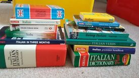 Italian languge teach yourself books - bundle